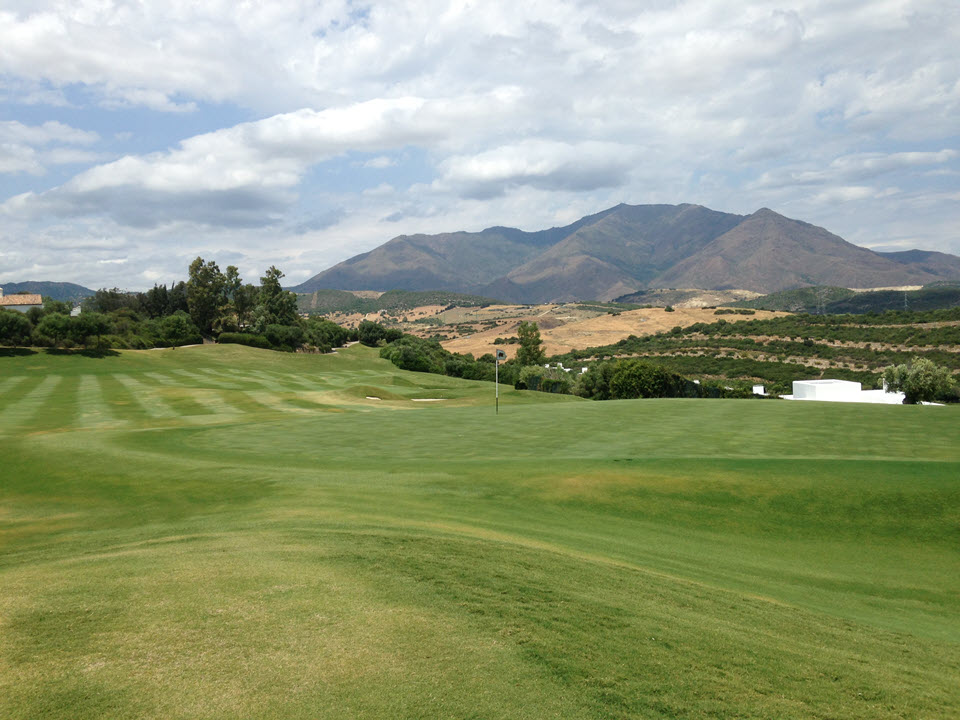 Finca Cortesin golf course in Casares