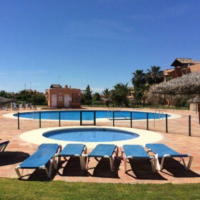 Swimming pools at Casares del Sol