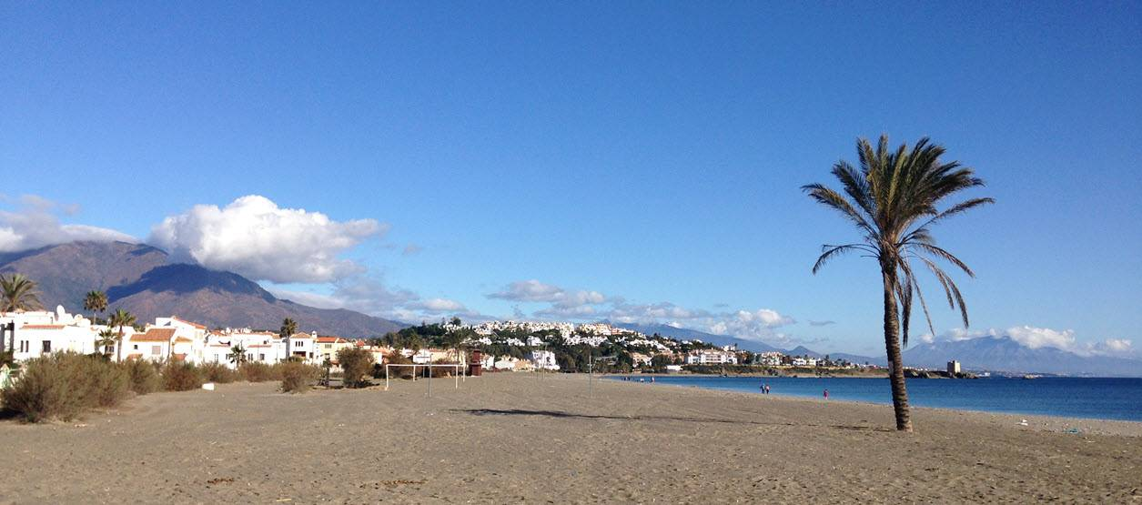 Casares beach 800m from Casares del Sol apartment