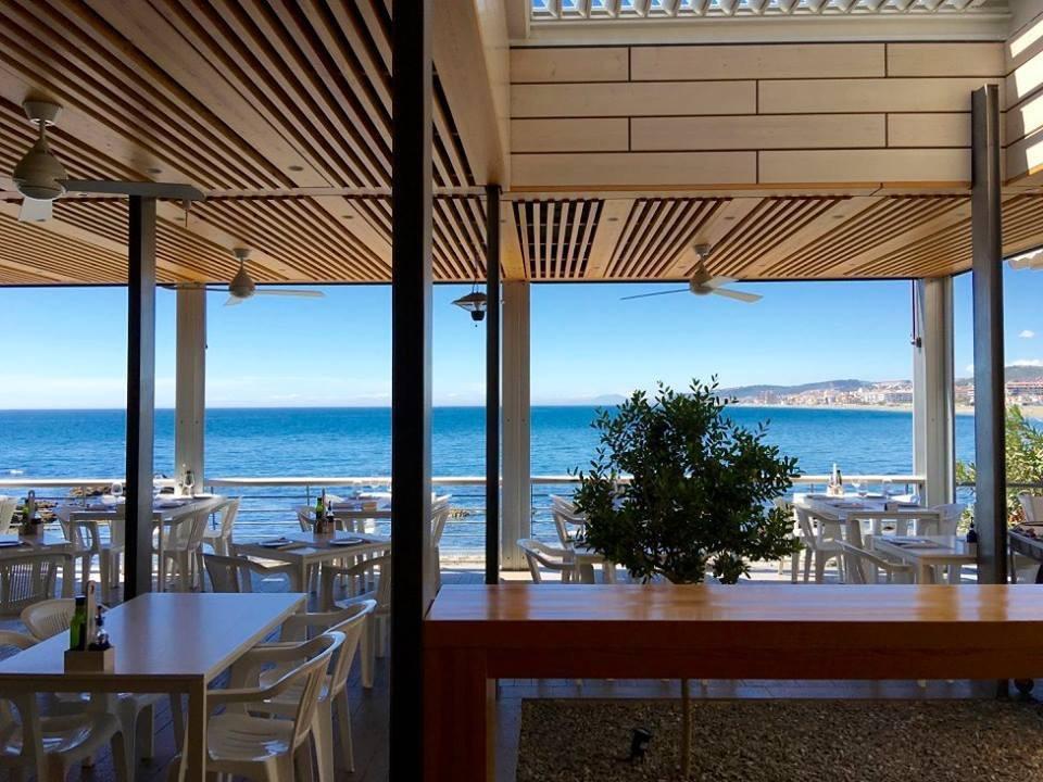 Casares beach bar, La Sal